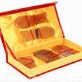 Placa de chifre de boi Natural chifre raspagem massagem placa guasha beleza rosto Demolição placa