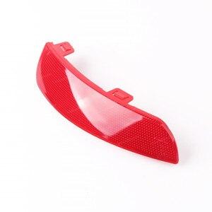 Image 3 - Red Rear Bumper Reflector Lamp Light Lens Left Right 30763345 30763346 For Volvo S40 V50 2008 2009 2010 2011 2012 2014 2015