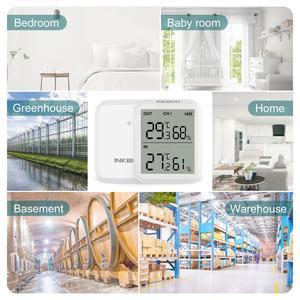 Image 5 - Inkbird ITH 20R Digital Hygrometer Indoor Thermometer Humidity Gauge with 1Transmitter Accurate Temperature Aquarium Room Garage