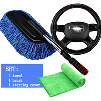 Towel Thicken Microfiber Suede Cloths Car Cleaning Towel Car Care Wash Beauty Supplies Tools And Car