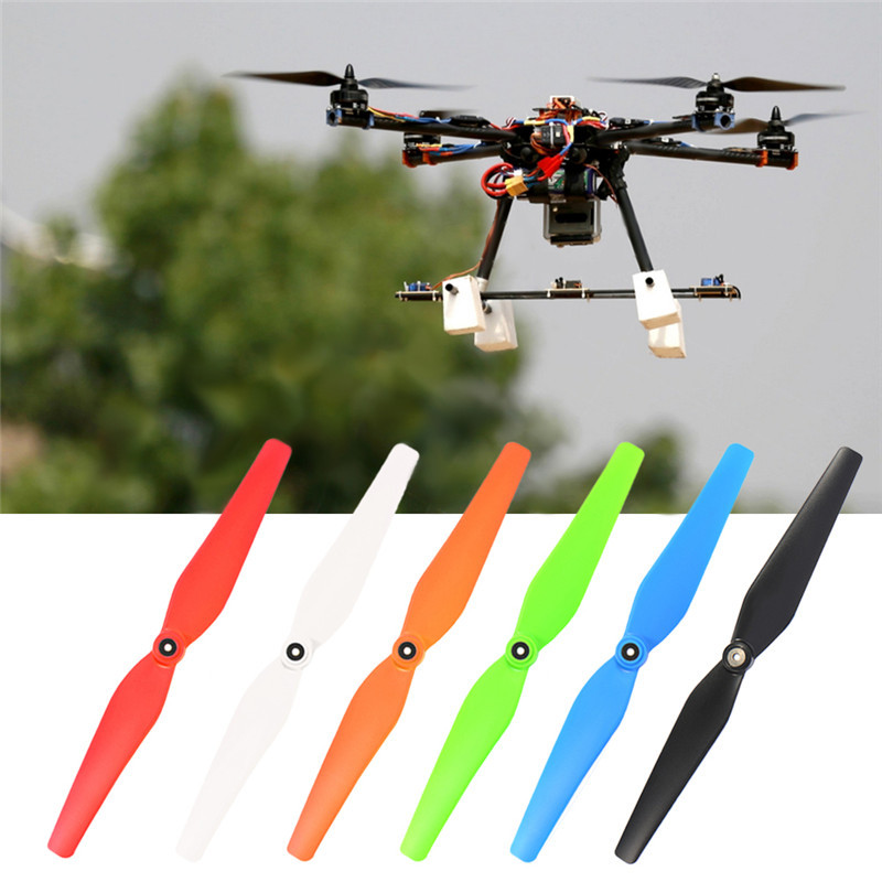 Hot 4 Pcs 6 Colors 23.3cm Main Blades Propellers For SYMA X8C X8G X8HC X8HG Bullnose Mounting Hole For RC Quadcopter
