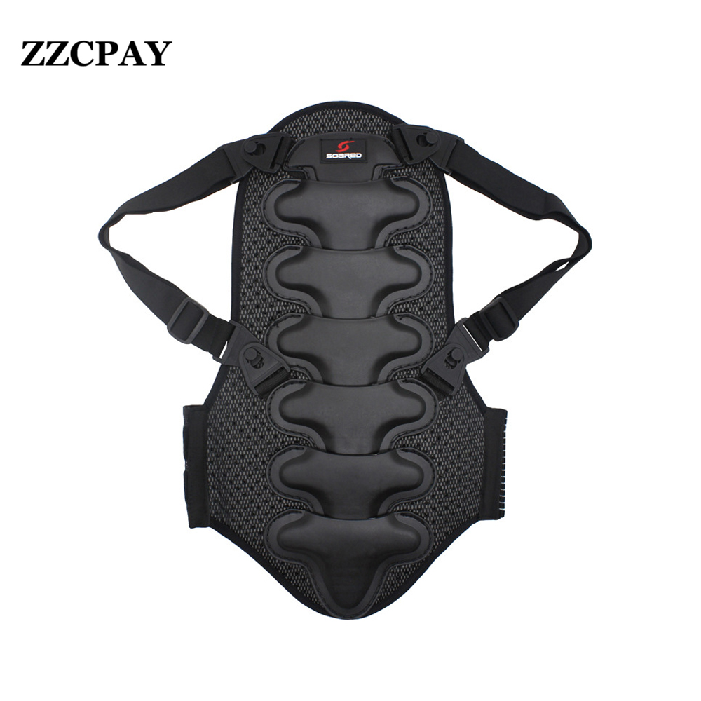 ФОТО Professional Ski Snowboard Back Support Motorcycle Back Protector Shoulder Support Motocross Back Protection