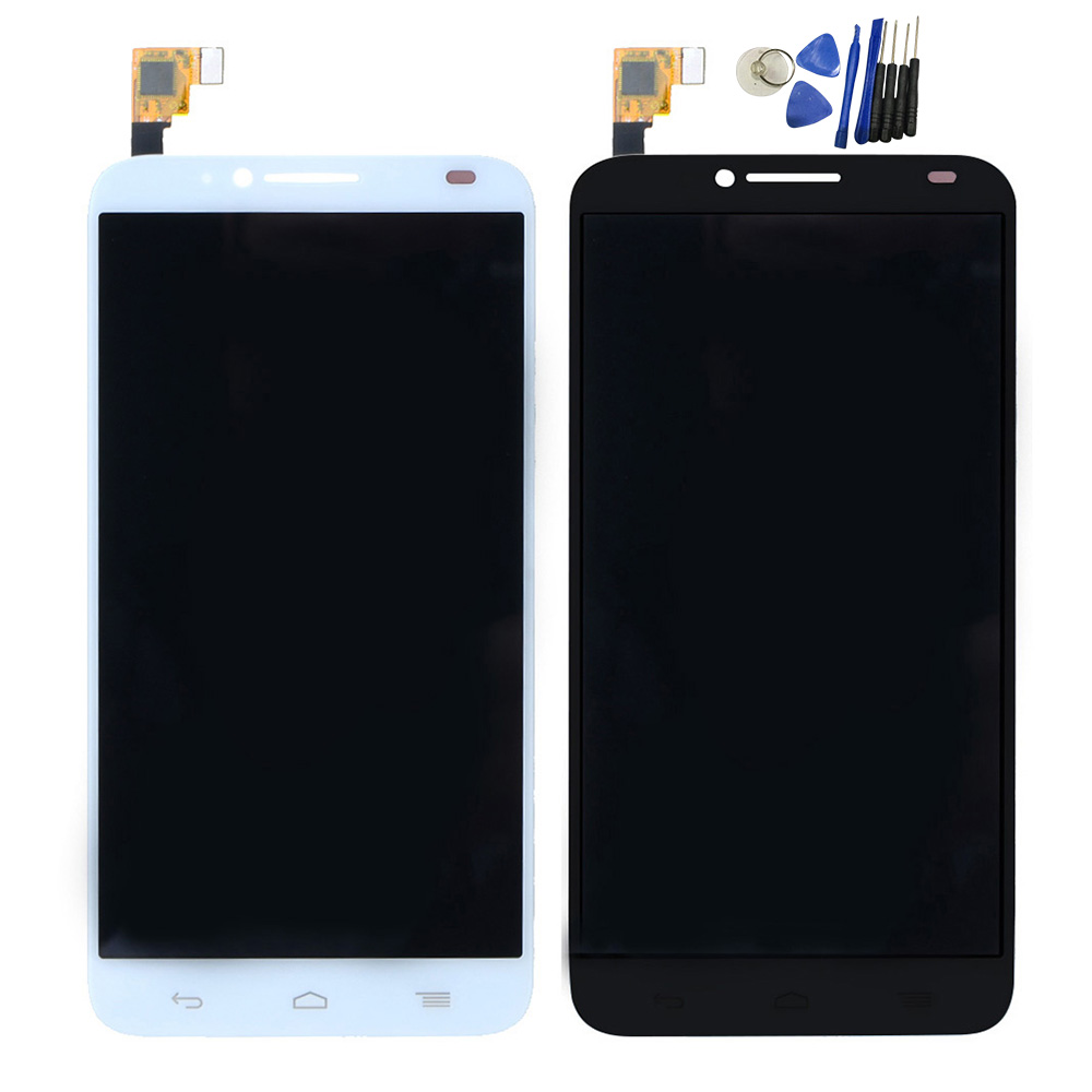 ФОТО Original 5.0 Inch LCD Screen For Alcatel One Touch Idol 2 6037 LCD Display Digitizer Touch Screen Assembly With Tools T0.2