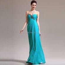 Perlen Chiffon Türkis Kleid Lange Mutterschaft Formale Abendkleid für Schwangere Frauen abendkleider