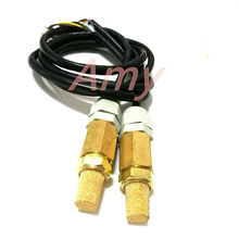 2pcs/lot Double waterproof PE temperature and humidity detection sensor probe SHT10 soil temperature and humidity -65 flue cured