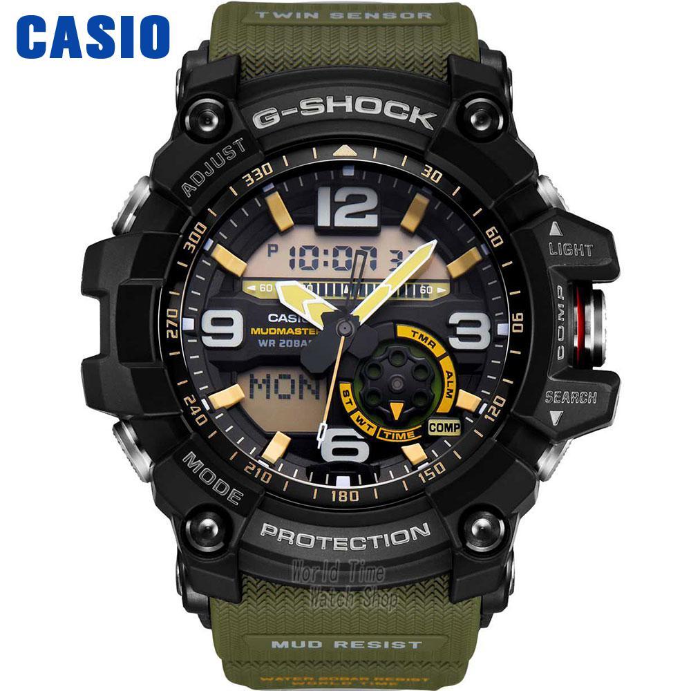 CASIO часы мужские | Двухиндуктивный Двойной экран спортивные на воздухе Модные мужские часы GG-1000-1A3 GG-1000-1A5 GG-1000-1A GG-1000GB-1A