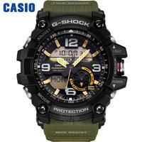 CASIO часы мужские   Двухиндуктивный Двойной экран спортивные на воздухе Модные мужские часы GG 1000 1A3 GG 1000 1A5 GG 1000 1A GG 1000GB 1A