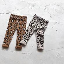Весенние леггинсы для маленьких девочек модные длинные обтягивающие