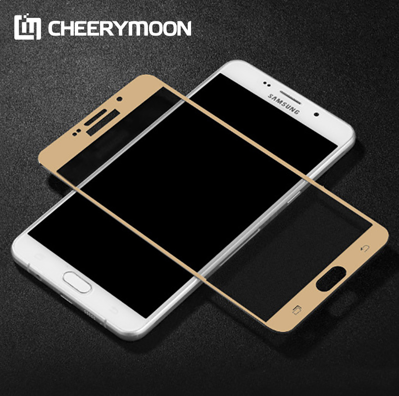 Full Cover Curved Surface For Samsung Galaxy S7 A5 A7 A9 C7 On5 Screen Protector Protect ...