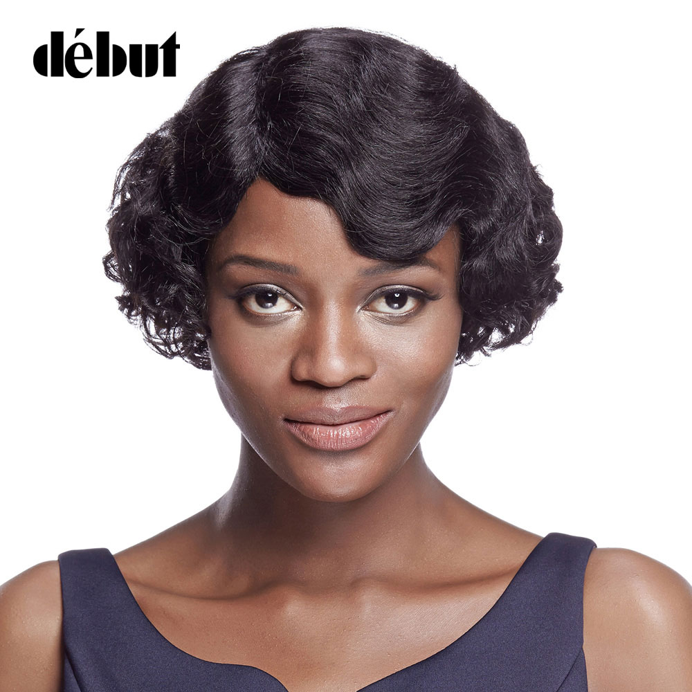 Debut Wigs For Black Women Loose Wave Brazilian Remy Hair Short Bob Wigs Cheap Human Hair Wigs Natural Color Free Shipping