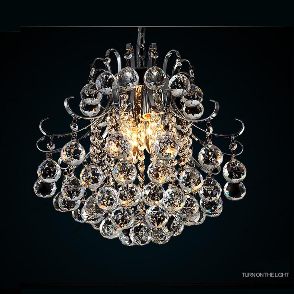 Modern elegant crystal chandelier ceiling hanging light for living modern elegant crystal chandelier ceiling hanging light for living room bedroom bar wedding decor lighting light fixture in chandeliers from lights arubaitofo Gallery