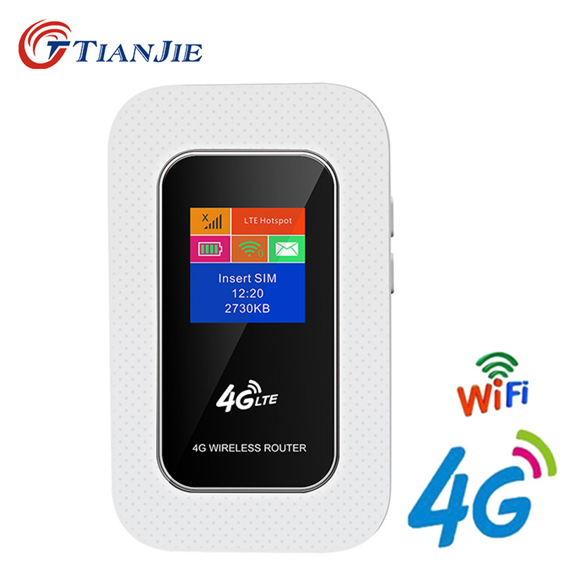 Reisepartner 150M Mobiler Hotspot Pocket Portable Wireless Entsperren Mini Wi-Fi MiFi LTE-Modem WiFi 4G-Router mit SIM-Kartensteckplatz