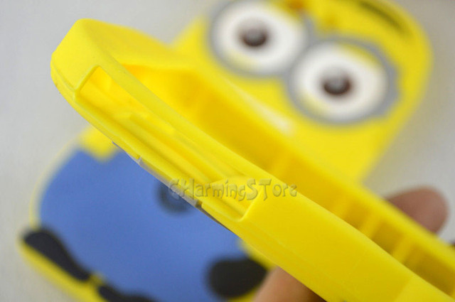 3D Despicable Me Minions Soft Back Cover Case For SONY XPERIA Z3, Compact Mini, Z4 / Z5