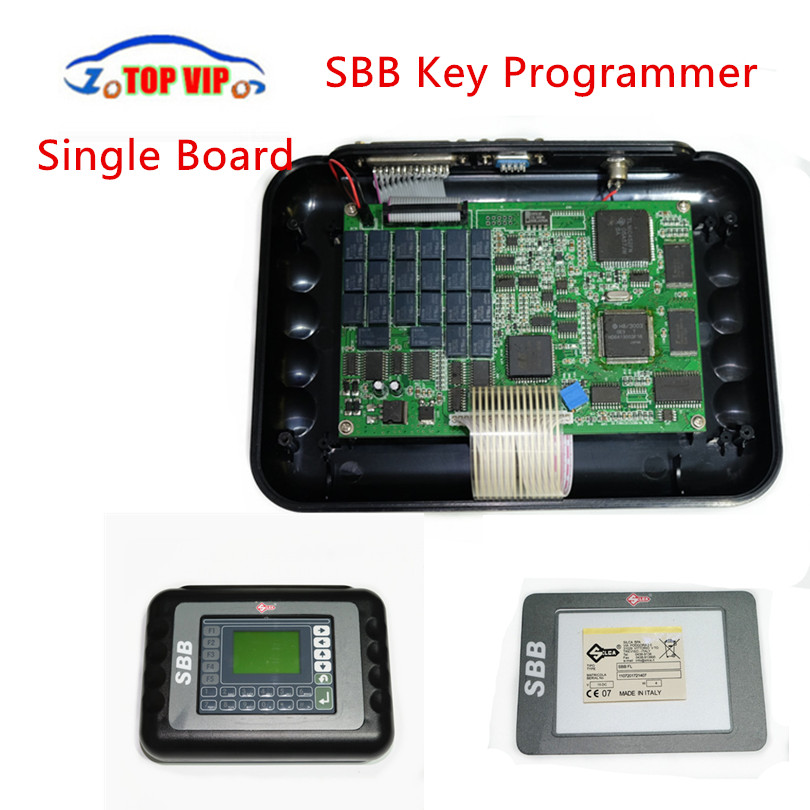 2018 Best Price Silca SBB V33.02 Auto Car Key programmer Wholesale Price with multi-langauge sbb Key Programmer key maker