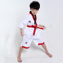 Childrens dance clothing sleeves long-sleeved girls Taekwondo boys practice martial arts