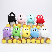 2 Pçs/set 17 cm Super Mario Bros Yoshi Dinossauro brinquedos de Pelúcia Bonecas tartaruga Mario Brinquedos de Pelúcia Frete grátis