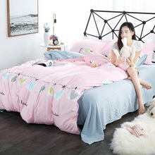 Elk Duvet Cover Set Twin Queen King For USA,Bedding set Bed Linens Sheet RU QUEEN Russia Bedclothes White Black 2017 New