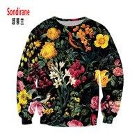 Sondirane Neueste Sweatshirts 3D Print Floral Grafiken Hoodies Langarm-pullover Schweiß Tops Blume Mode Trainingsanzug Outfits