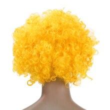 Football Fan Afro Wig