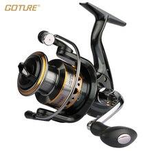Goture Spinning Reel 12BB + 1RB Fishing Reel 1000-7000 Series Boat Rock Fishing Wheel Aluminum Spool