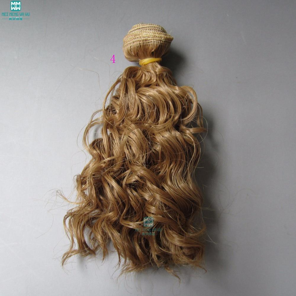 1pcs 15cm et 25cm * 100CM La laine d'imitation roule les cheveux pour - Poupées et accessoires - Photo 3
