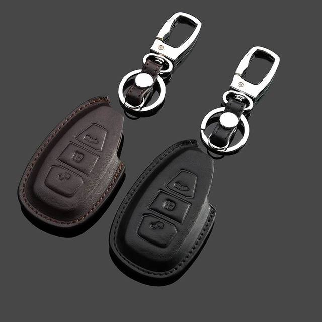 Брелоки Для Автомобиля Ford Focus Mondeo Maverick Натуральная Кожа 3D Эффект Бесплатная Доставка