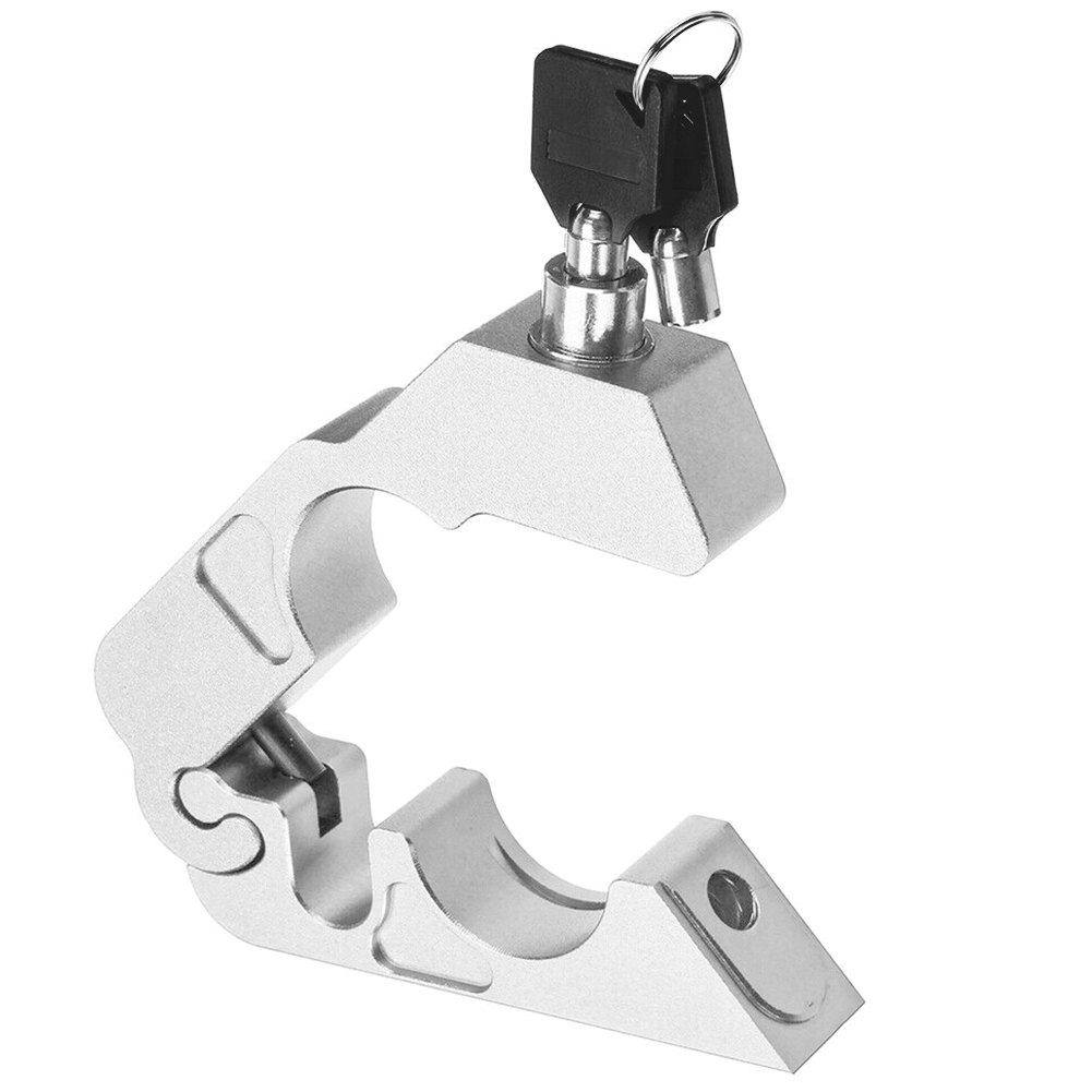 With Keys Useful High Hardness Aluminum Alloy Scooter Handle Bar Motorcycle Anti Theft Easy Install Brake Lever Lock Street Bike
