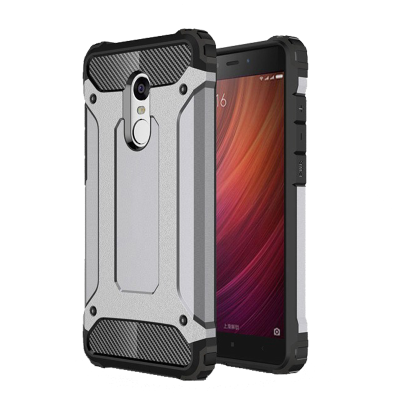 Xiomi Hybrid Armor Shockproof TPU Silicone Case For Xiaomi Mi5 Mi5S Mi6 Mi 6 5 S 5S 5C Redmi 3S 4A NOTE 4X 3 4 Pro Prime Cover