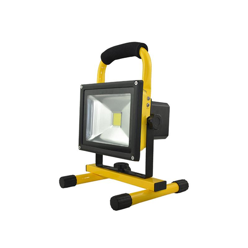 10W Portable Cordless Rechargeable LED Flood Spot Work Light Lamps for Outdoor Camping Working Fishing US Plug cob led flood light dimmable 100w portable led floodlight cordless work light rechargeable spot outdoor working camping lamp