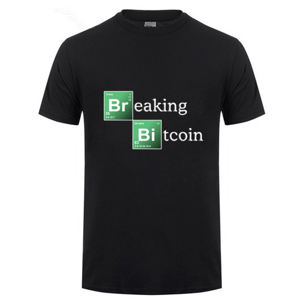 2018 bitcoin tee shirt homme de marque short sleeve summer. Black Bedroom Furniture Sets. Home Design Ideas