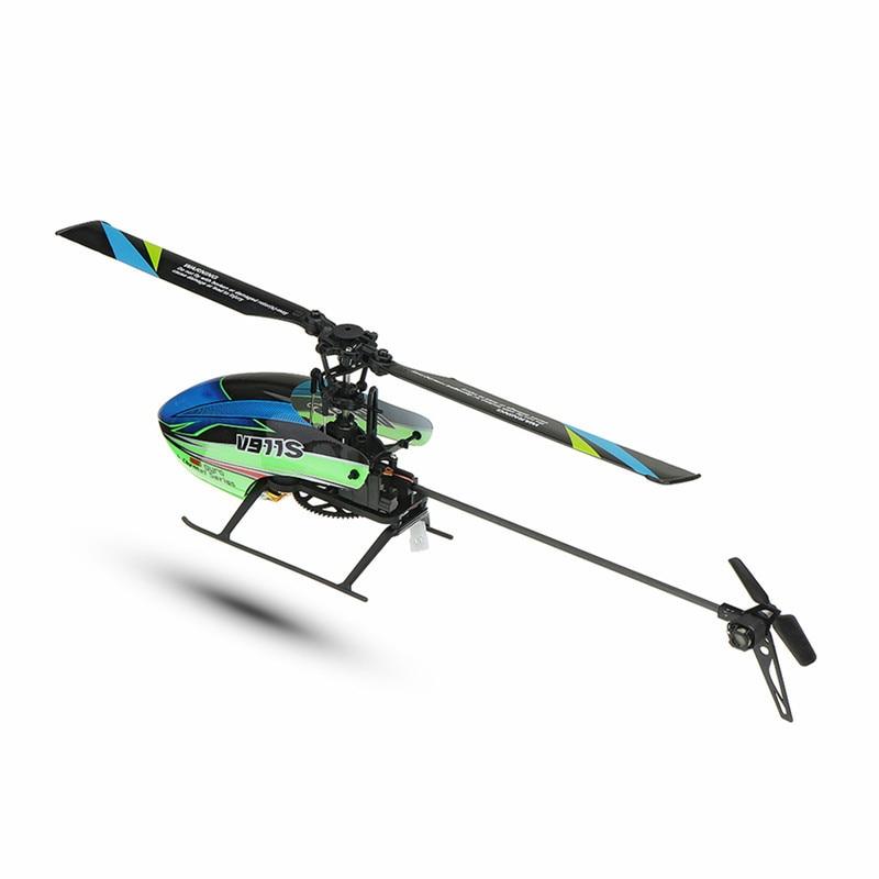 (С 3 батареями) Новая Популярная игрушка WLtoys V911S 2,4G 4CH 6 Aixs Gyro Flybarless RC вертолет RTF для начинающих детская игрушка - 3