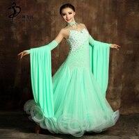 Ballroom Competition Dance Dress Modern Waltz Tango Standard Dress S9001 /Ballroom Dance Competition Dresses XXL
