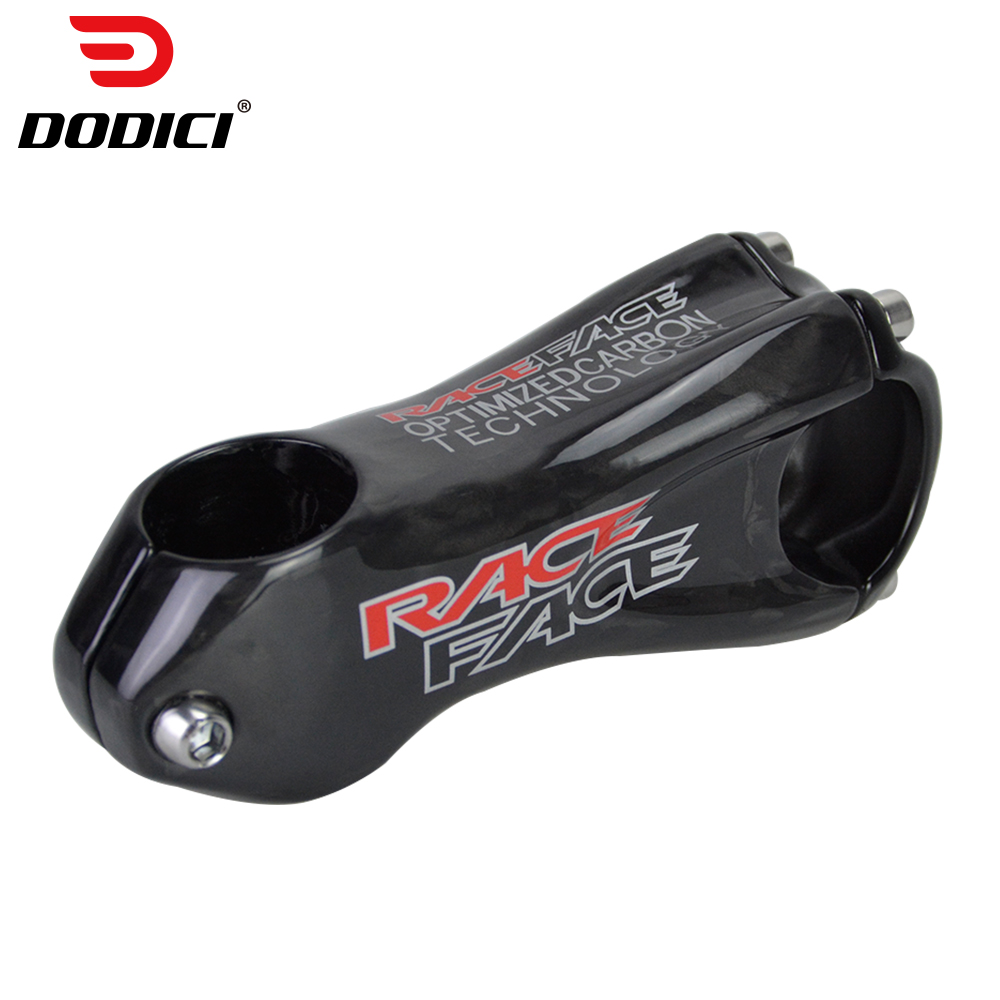 Next Red Logo MTB Carbon Stem Bicycle Road Stem Cycling Carbon Stem Handlebar Clamp 31.8mm Fork 28.6mm 10 Degree Stem Bike parts