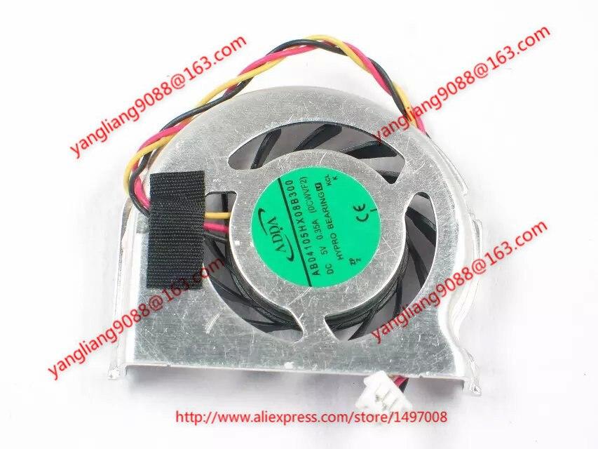 ADDA AB04105HX08B300, (0CWVF2) DC 5V 0.35A Server Bare fan