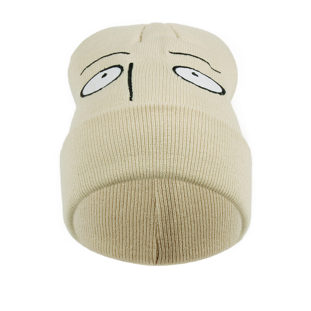 One Punch Man Bald Saitama Hot Sale Warm Hip Hop Women Men Knitted Casual Hat