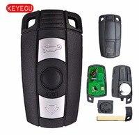 Keyecu Keyless Go Function Full Intelligent Remote Key 315MHz 868MHz PCF7952 Chip For BMW CAS3 3