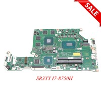 NOKOTION DH5VF LA F952P Main board for acer AN515 52 AN515 laptop motherboard HD630+GTX 1050 Ti SR3YY I7 8750H CPU full tested