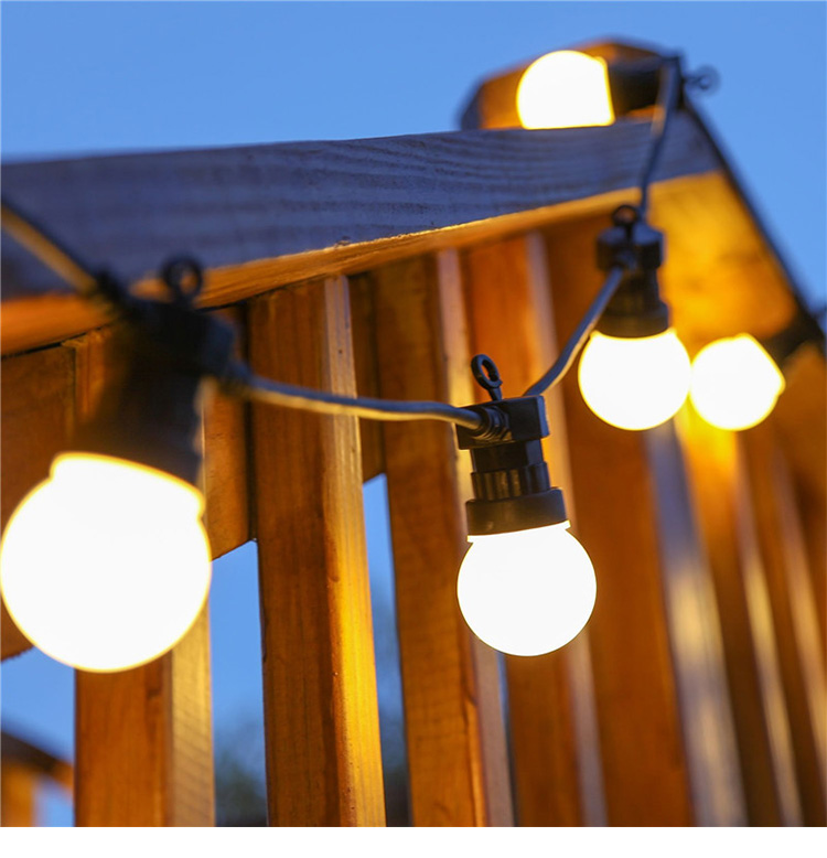 LED Festoon Party String Globe Light Ball Lighting Kit Warm Vintage Retro Connectable US UK AU EU Plug Avaiable