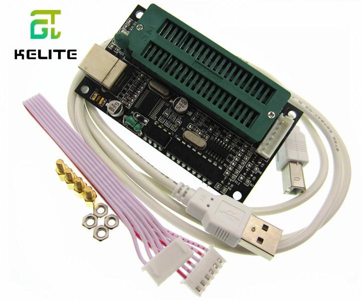 1pcs/lot PIC K150 ICSP Programmer USB Automatic Programming Develop Microcontroller + USB ICSP Cable