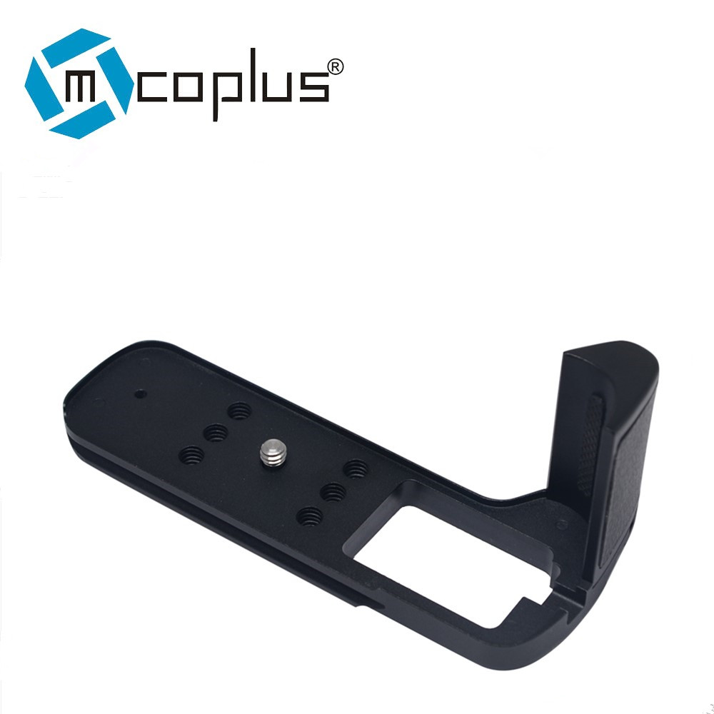 купить Mcoplus L-shaped Vertical Shoot Quick Release Plate Bracket Hand Grip Holder for Fuji Fujifilm X-T2 XT2 Camera Tripod по цене 4532.03 рублей