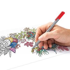 Image 2 - Lifemaster Staedtler Triplus Fineliner Vilt Tip Tekening Pen Art Marker 0.3 Mm Multi Color 334SB