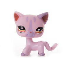 LPS Pet Shop Presents Toys Shorthair Cat Dolls Collection Set Action Figures Model High Quality Toys Gifts Cosplay Toys Girl Toy стоимость