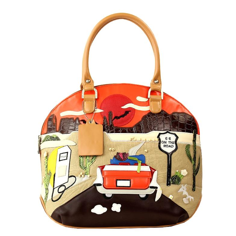 3e864f4451e801 Sj Braccialini Sacs Dessinée Style Art Bande 66 Femmes Emballages Messenger  Artisanat Main À Sac Épaule Femme ...