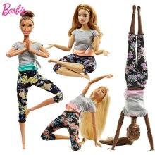 Original Brand Barbie 2019 Brand Move Set Sport All 22 Joints Girl Doll  Birthdays Girl Gifts For Kids Boneca toys for children