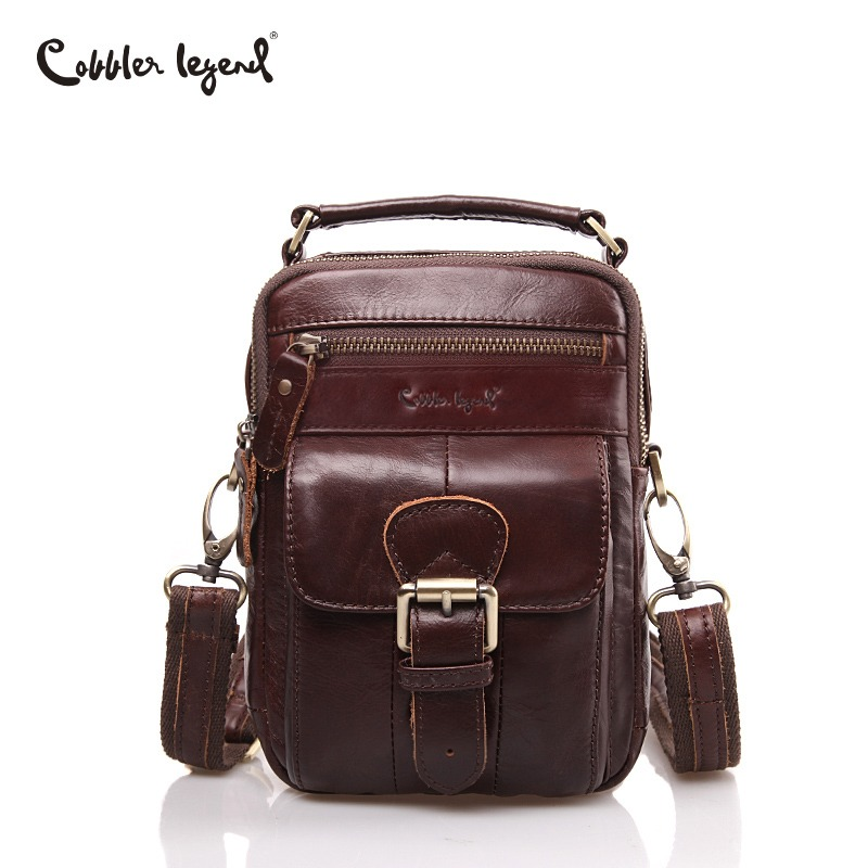 Cobbler Legend New Famous Brand Men Bag Genuine Leather Man Messenger Bags Male Shoulder Crossbody Bag Business Small Male Bolsa цена