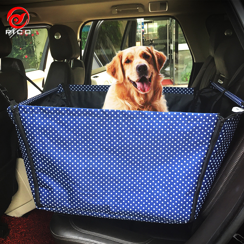 Symbol Of The Brand New Pets Safety Waterproof Dog Car Mats Hammock Protector Rear Back Pet Dog Car Seat Cover Car Rear Seat Pet Guardrail Modern Techniques Dog Carriers Pet Products