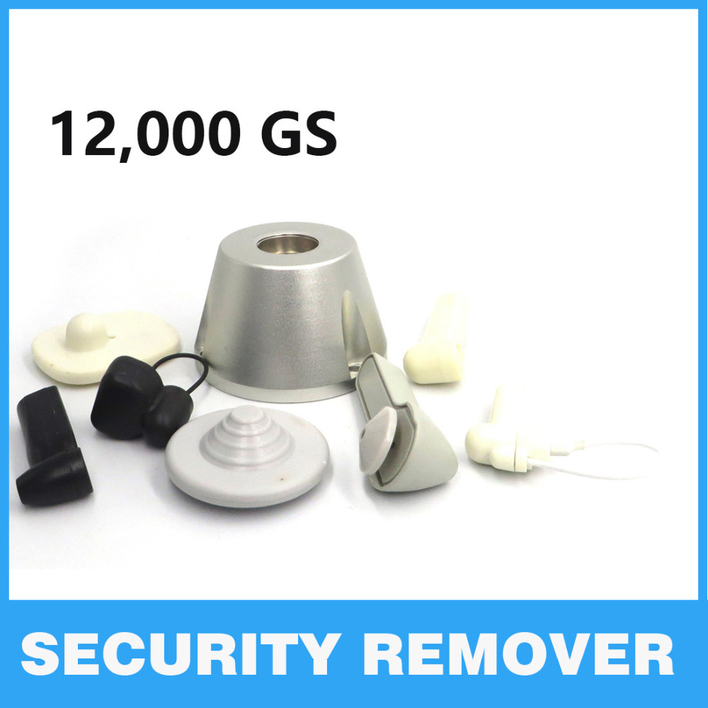 Magnet Security Tag Remover EAS 12000gs GOLF Magnet Detacher Unlocker Lockpick Anti-theft Security Protection super eas hard tag 20000gs golf detacher security tag remover opener unlock eas tag detacher anti theft unlocking device strong magnetic force