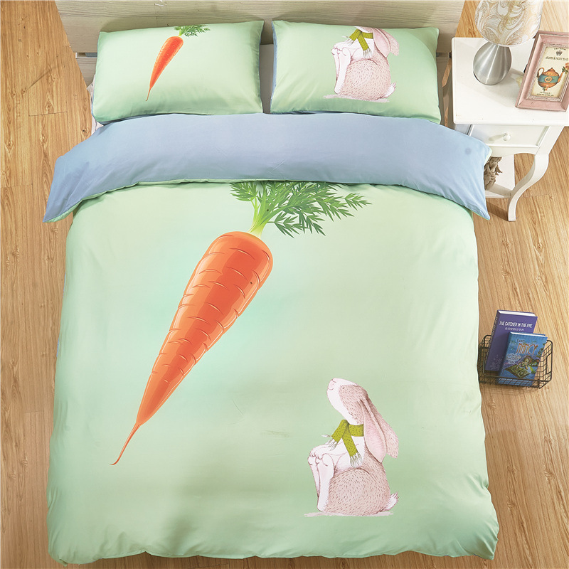 Fashion 3D Color Chili Carrot Bedding Sets Full King Twin Queen King Size 3Pcs Duvet Cover Set Pillowcase Fashion 3D Color Chili Carrot Bedding Sets Full King Twin Queen King Size 3Pcs Duvet Cover Set Pillowcase