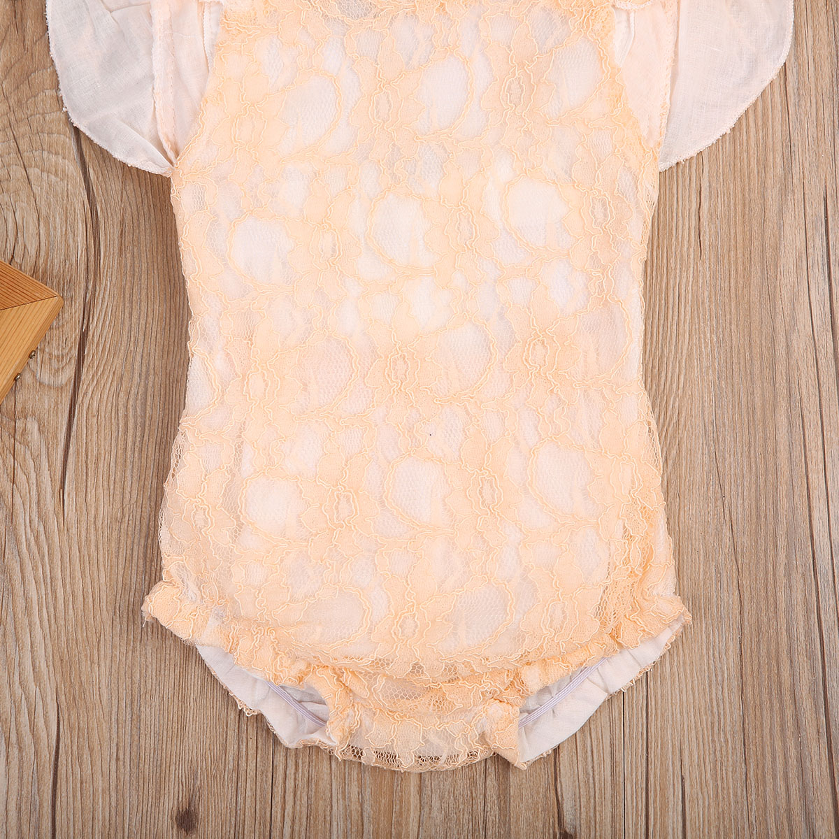 Newborn Infant Baby Girl Romper Ruffle Lace Jumpsuit Playsuit Outfits Summer Cute Colthes Sunsuit