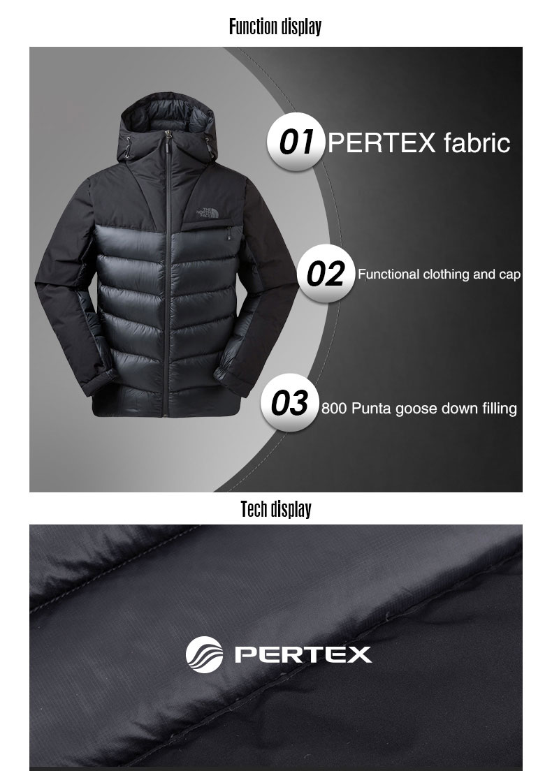 This is the webpage for NORTH FACE JACKETS.
